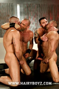 Hairy Muscle 3way from Hairy Boyz