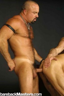 3 Muscle Daddies from Bareback Masters