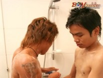 Asian Boy Facial from Boykakke
