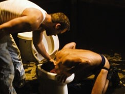 Manhole 2 Piss from Falcon Studios