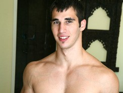 gay sex - Body Builder Clark from Frat Men
