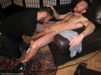 Sucking A Jock from New York Straight Men