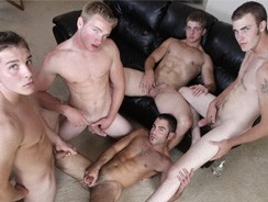 gay sex - Fratboy Orgy from Next Door Buddies