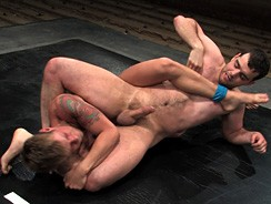 Cole Ryan Vs Braxton Bond from Naked Kombat