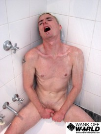 Daniels Shower Fun from Wank Off World