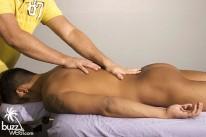 Massaging Josh from Buzz West
