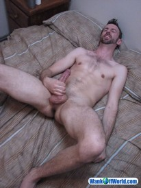 Hung Tyler Strokes from Wank Off World