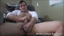 Broke Hairy Devin from Broke College Boys