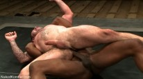 Dak Vs Race from Naked Kombat
