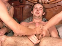 4 Man Orgy from Straight Fraternity