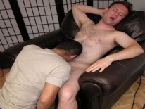 Sucking Off Sebastian from New York Straight Men