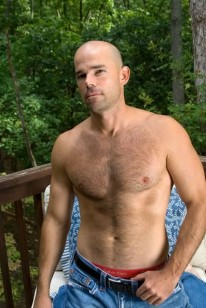Hairy Hunk Patrick from Southern Strokes