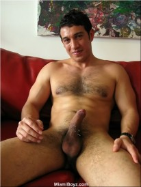 Hairy Uncut Alberto from Miami Boyz
