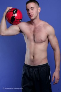 Hunky Footballer Scott from English Lads