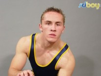 Straight College Wrestler from Sd Boy