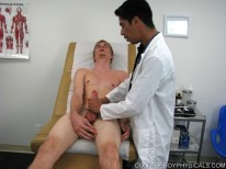 Stevens Hand Job from College Boy Physicals