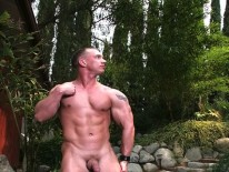 Muscle Hunk John Magnum from Jake Cruise