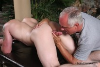 Tex Gemmell Massaged from Jake Cruise