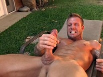 Bo Dean Sunbathing from Cocksure Men