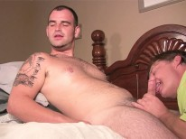 Young Bear Cub Cum from Straight Fraternity