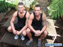 Jake And James from Wank Off World