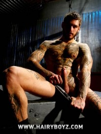 Logan Mcree Strokes from Hairy Boyz