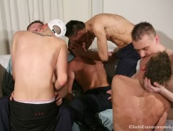 Fit Fuckers Orgy from Club Eurocreme