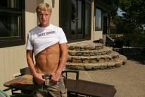 Gavin Jerks Off from Next Door Male