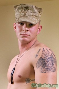 Military Hunk Jameson from Active Duty