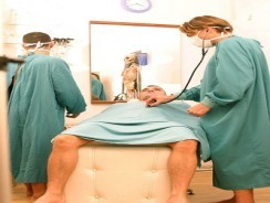 3 Way Medical Exam from Uk Naked Men