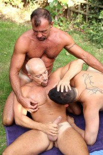Outdoor Threeway Sex from Butch Dixon