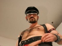 Dildo Fucking Leatherman from Butch Dixon