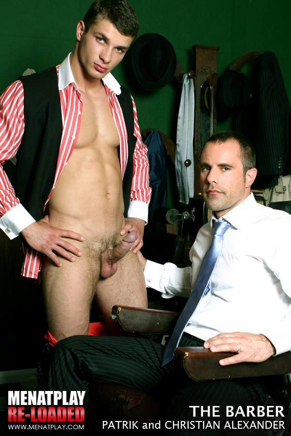 Barbershop gay porn