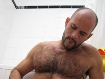 Aussie Bear Aaron from Wank Off World