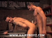 Antonio And Xander Fuck from Hairy Boyz