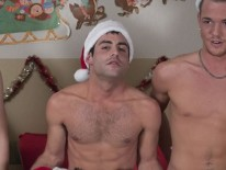 Xmas Orgy 2 from Broke College Boys