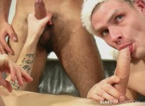 Christmas Threeway 2 from Blake Mason