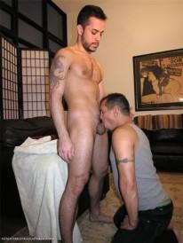 Sucking Off Aaron from New York Straight Men