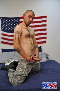 Hunky Sgt Paco from All American Heroes