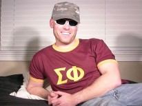 Army Guy Jed from Straight Fraternity