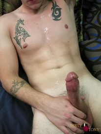 Kade Jerks Off from Dirty Tony