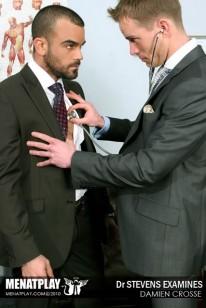 Examining Damien from Men At Play