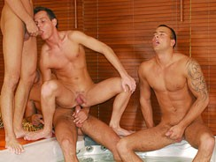 Gay Porn - Visconti Orgy from Next Door Pass