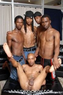 Bareback Thugs from Thug Orgy