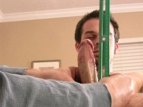 Stroking Brock from Straight Fraternity
