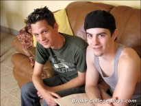 Mark And Reigner from Broke College Boys