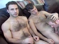 Two Guys Hanging from New York Straight Men