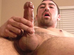 Stroking Blue from Straight Fraternity