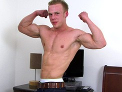 Muscular Hunk Nathan from English Lads