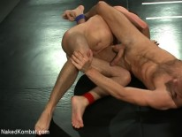 Tucker And Zach Wrestle from Naked Kombat